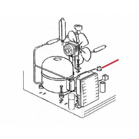 KLIXON THERMIQUE AC125 ORIGINE SCODIF - FPQ647