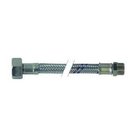 FLEXIBLE EMBOUT DRT 50CM INOX - TIQ2179