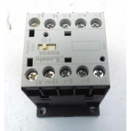 CONTACTEUR BG0610A 230V 50/60HZ 7A 2.2KW - FPQ759