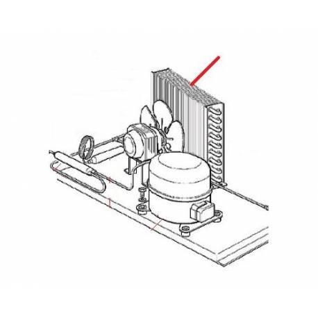 CONDENSEUR A AIR AC056/AF80 ORIGINE SCODIF - FPQ784