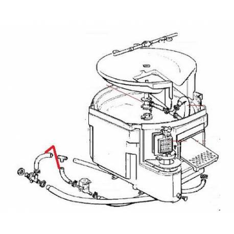 TUBE EVACUATION EAU ORIGINE SCODIF - FPQ708