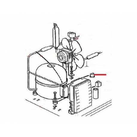 KLIXON PROTECTION THERMIQUE ORIGINE SCODIF - FPQ739