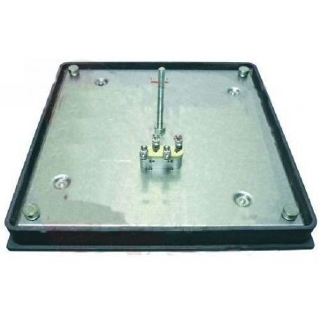 PLAQUE ELECTRIQUE 400X400MM 5000W 400V - TIQ10680