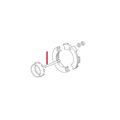 TUYAU LOGEMENT SONDE S1 ORIGINE SPAZIALE - FCQ6560