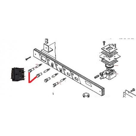 CAPUCHON AMPOULE TRANSPARENT ORIGINE RANCILIO - ENQ705