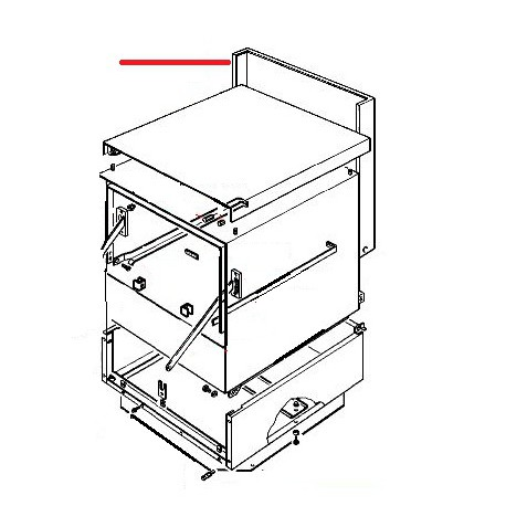 DEFENSE POSTERIEUR LT365-LS385 ORIGINE RANCILIO - ENQ955