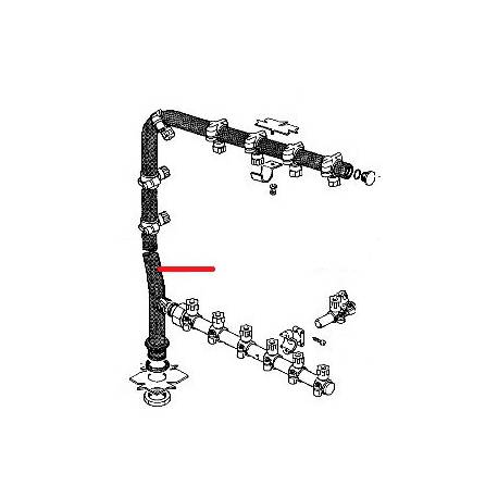 TUBE LAVAGE LS44/N COMPLET ORIGINE RANCILIO - ENQ255