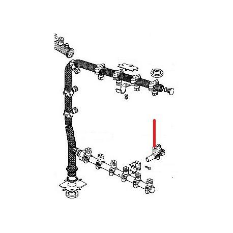 BRAS DOUBLE JET LS44 COMPLET ORIGINE RANCILIO - ENQ263