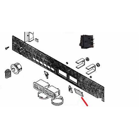 PLAQUETTE LS805 ORIGINE RANCILIO - ENQ366