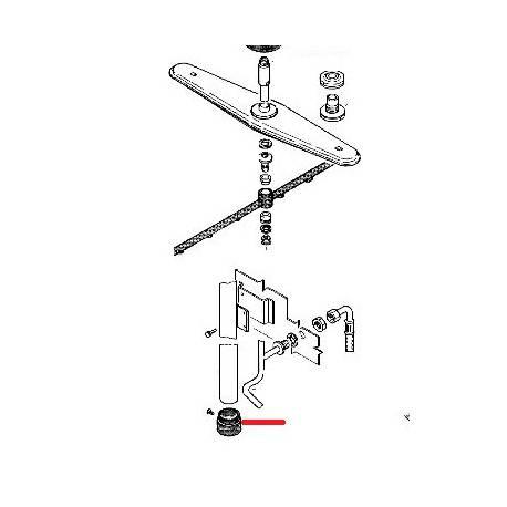 RACCORD TUBE LS1105 ORIGINE RANCILIO - ENQ312