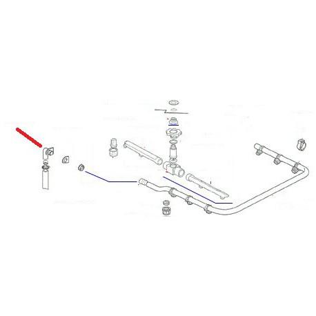 COUDE RACCORDEMENT LAVAGE ORIGINE RANCILIO - ENQ422