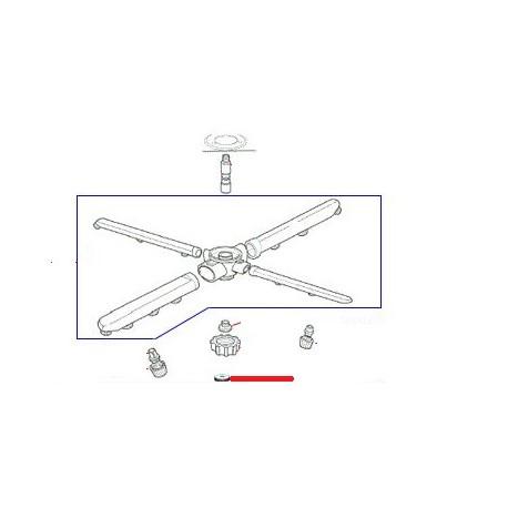 MOLETTE FIXATION BRAS ORIGINE - ENQ442