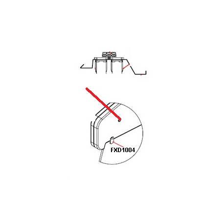 SUPPORT FIXATION NEON ORIGINE FRILIXA - SKQ6682