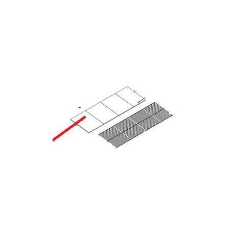 PLATEAU EXPOSITION INOX PRODUIT - 400 GERES - SKQ6616