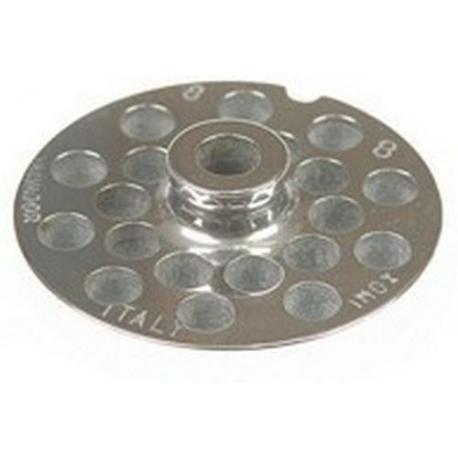 PLAQUE INOX MOD.8 TROUS - FYNGEV5565