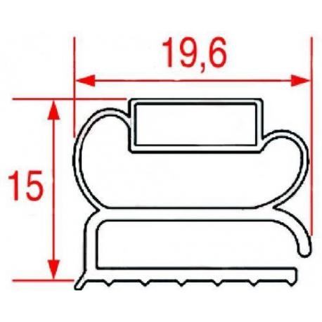 JOINT MAGNETIQUE 1560X660 GRIS - TIQ10772