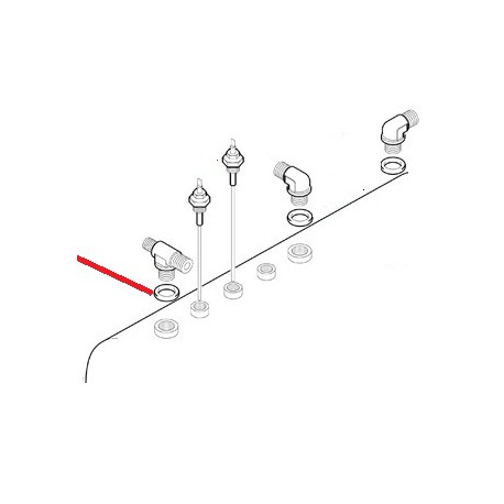 RACCORD EN T 3/8M ORIGINE ASTORIA - NFQ98517