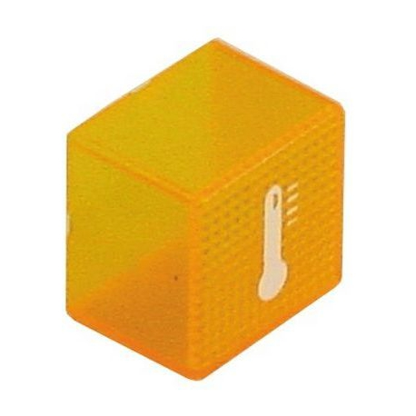 BOUCHON THERMOMETRE ORANGE - TIQ61259