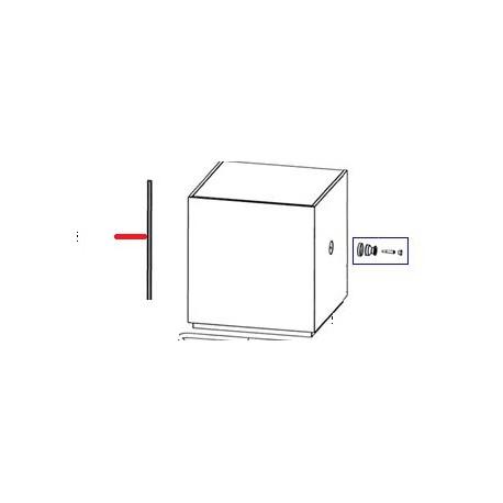 GLISSIERE CAPOT ORIGINE SAMMIC - FNQ621