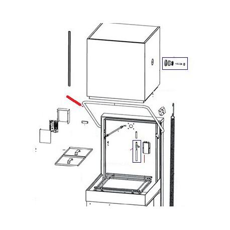 BARRE ELEVATION ORIGINE SAMMIC - FNQ622