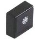 BOUTON POUSSOIR RINCAGE 23X23MM NOIR - TIQ61250