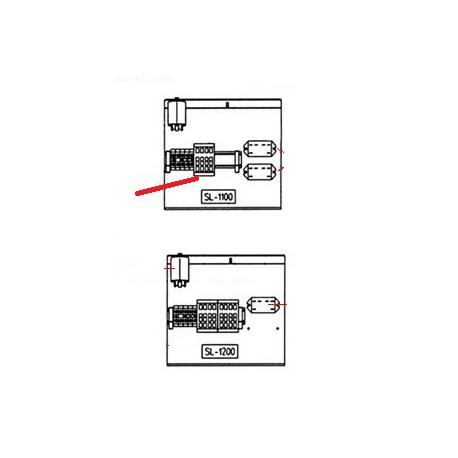 CONTACTEUR A16-3001 220V ORIGINE SAMMIC - FNQ776