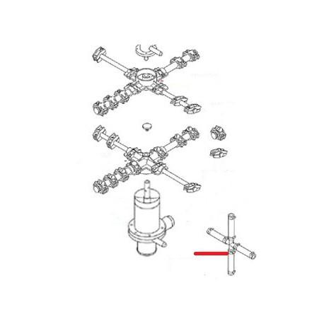 ENSEMBLE RACCORD EN CROIX ORIGINE SAMMIC - FNQ40