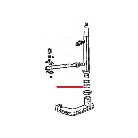 ECROU COLONNE LAVAGE ORIGINE SIMONELLI - FYQ6560