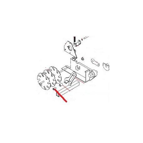 PIVOT LEVIER ORIGINE STAFF - FGNQ41