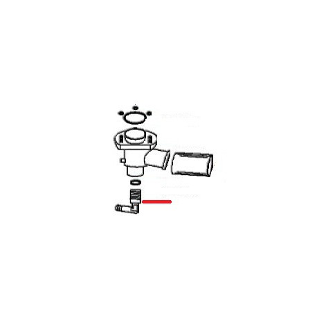 RACCORD COUDE ORIGINE UNIVERBAR - HAQ695