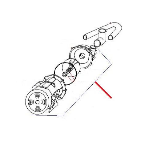 ELECTROPOMPE T75 AVEC RACCORD DOSEUR 10MM 0.73HP 230V 50HZ - HAQ605