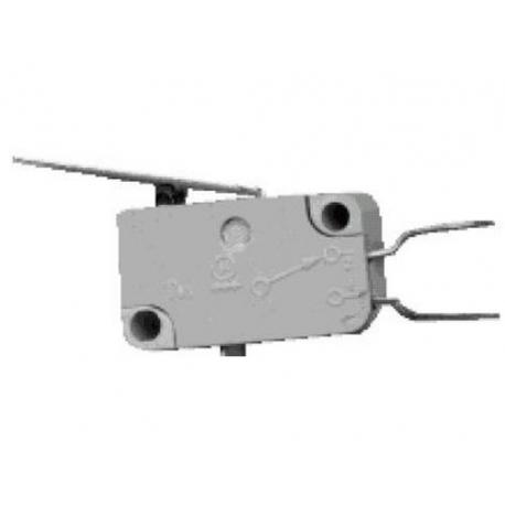 MICRO-RUPTEUR 250V 16A AVEC LEVIER 31.5MM - HAQ83