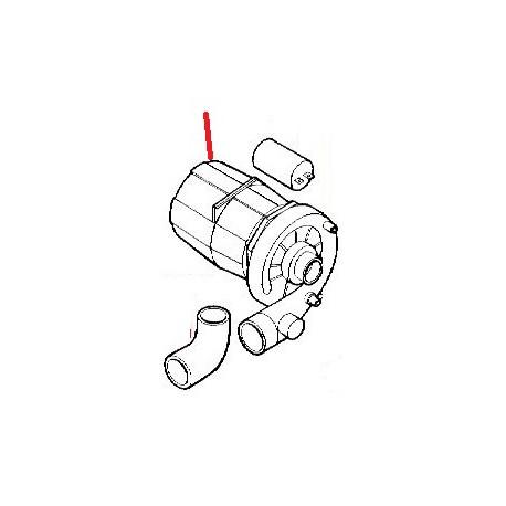 MOTOPOMPE 0.70HP GASTRO 2 SORTIES ORIGINE DIHR - JQ0453