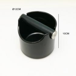 BAC A MARC PVC ROND NOIR Ø 12CM X HAUT. 10CM