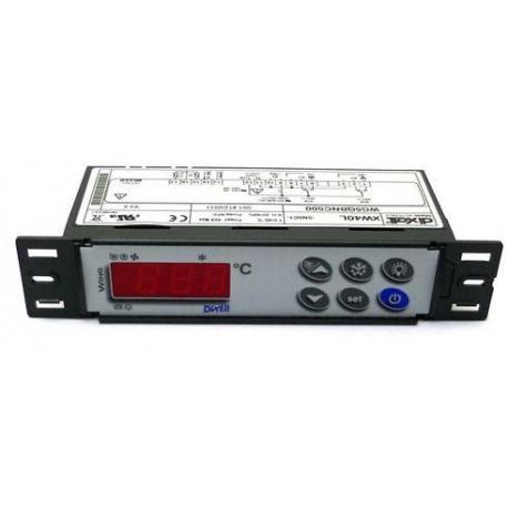 TIQ10848-CONTROLEUR DIXELL XW40L 230V NTC/PTC 8A+20A