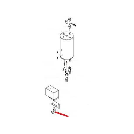 TUBE ELECTROVANNE NIVEAU ORIGINE SIMONELLI - FQ6325
