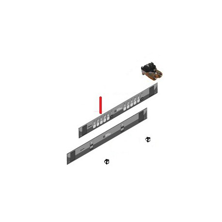 MEMBRANE CLAVIER PREMIER V 2GR ORIGINE SIMONELLI - FQ6451