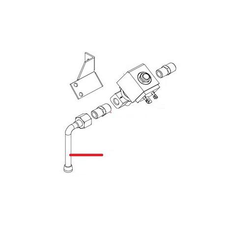 TUBE D EAU COUDE SEUL ORIGINE EMB - OSPQ05