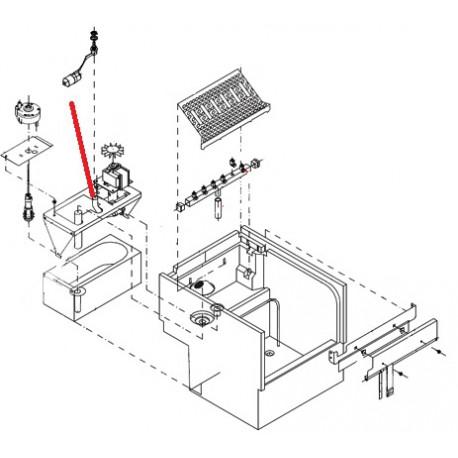 TUBE IMPULSION ORIGINE I.T.V - VGQ021
