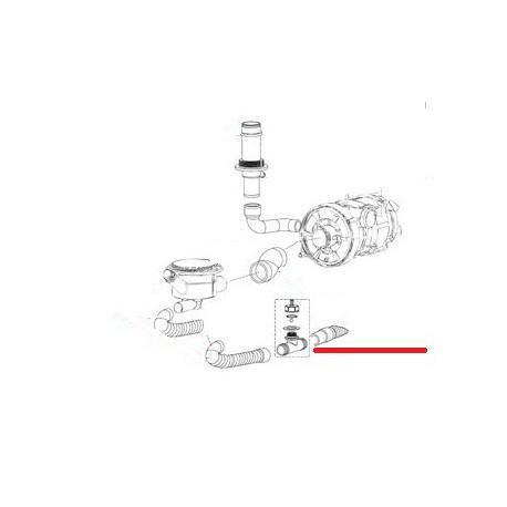RACCORD EN T DE VIDANGE ORIGINE ITW - RQ6572