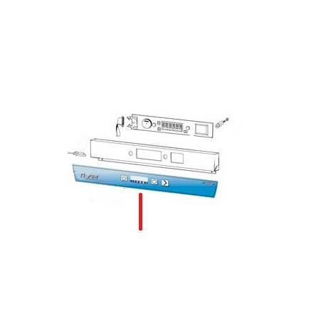 PLASTRON COMMANDE RIVER 253 ORIGINE ITW - RQ6516