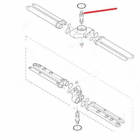 AXE SUPPORT BRAS SUPERIEUR RIV ORIGINE ITW - RQ6549
