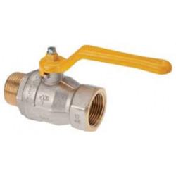ROBINET GAZ 1/2F POIGNEE A