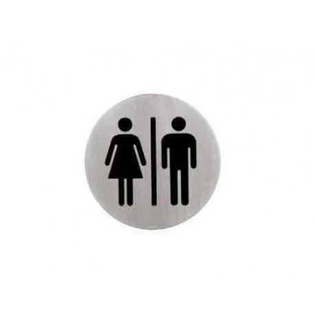 plaquette de porte FEMME/HOMME - RRI152