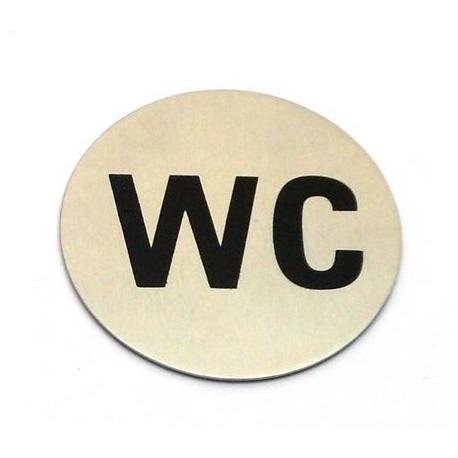 plaquette de porte WC - RRI160