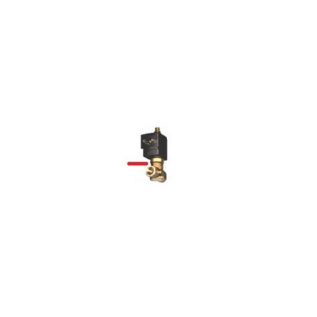 ELECTROVANNE 3V 1/4 24VAC D:4M - HQ402
