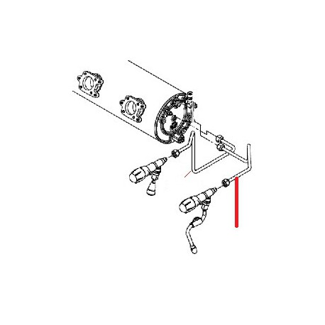 TUBE ALIMENTATION ROBINET VAPE ORIGINE CIMBALI - PQ7740