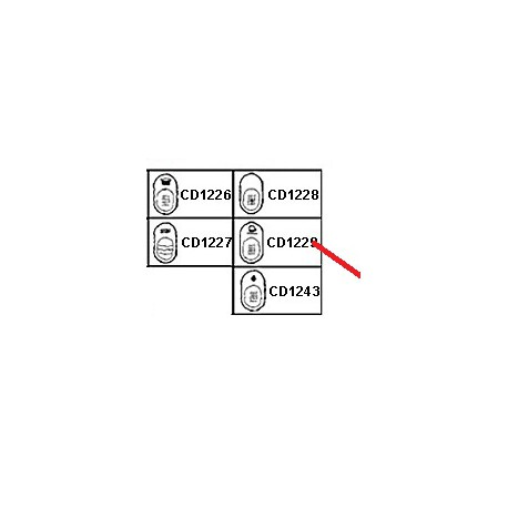 TOUCHE CHAUFFE TASSE ORIGINE CIMBALI - PQ6774
