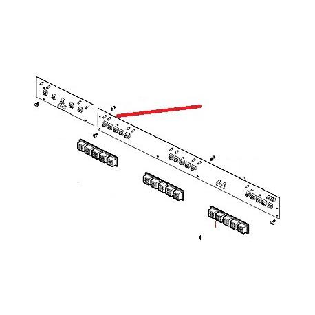 MEMBRANE SELECTION M32R ORIGINE CIMBALI - PQ6826