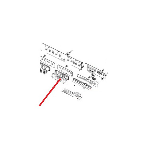 MEMBRANE PROGRAMMATION M39 ORIGINE CIMBALI - PQ6964